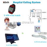 wireless calling system patient emergency push call button nurse wrist watches Medical equipment home calling system