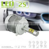 h4 Wholesale led car headlight h4 separated driver led head bulb h4 guangzhou led head light