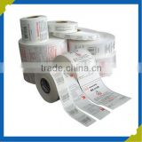 Non Woven Fabric Clothing Garment Wash Care Labels Fabric Content Printed Labels