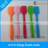 Silicone mixing spatula set in 4 colors with customized logo
