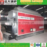 Industrial dzl series automatic chain grate coal fired hot wataer boiler for hotel and bathhouse
