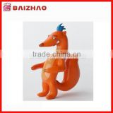 Mini small size gift plastic figure,3d cartoon squirrel figure toy