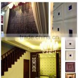 GLM Leather wall panel Interior decoration wall panel fixing system New HOT products bring you new profit