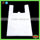 shenzhen china side gusset heat sealing white vest bag , HDPE plastic t shirt bag                                                                         Quality Choice