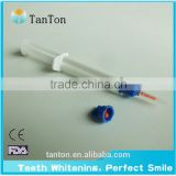Professional 0.1%-35%HP Teeth Bleaching Gel qith mixing syringe tips