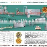 ce certificate good quality low price carbohydrate baked Corn Flakes extruder/Breakfast Cereals Processing Line