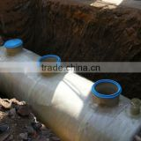 EPO: FRP septic-tank for waste water treatment