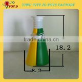 Promotional plastic fan horn for brazil world cup