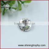 square Baguette shape dark black crystal accessory diamond for decoration