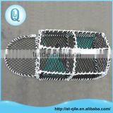 Custom crab trap net iron frame high strength pe crab net