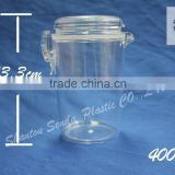 air tight acrylic clip jars, 400ml air tight jar, airtight acrylic storage jars