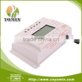 YM10 PWM Solar Controller with Metal Shell, LCD Display, Temperature Compensate PWM Solar Panel Charge Controller