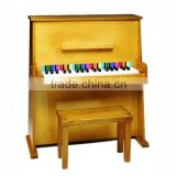 Fashional 37 key children Wooden piano, Mini child wooden piano toy