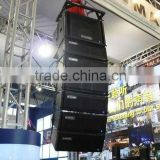 C-mark pro line array speaker Ct2844A powered by class D amplifier
