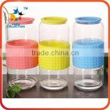 Double Walled Glass Tea Infuser Water Bottle Wholesale Heat-Resistant Glass Tea Bottle With Infuser