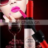 Mendior 2016 hot sale Long Lasting Red wine bottle shape lipstick waterproof liquid matte lip gloss OEM/ODM