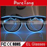 Shutter shades EL Glasses, EL Wire Shutter Shades, El Wire Light Up Shutter Shades Glasses