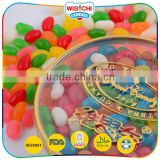 Round package novelty jelly bean fruit gift candy