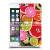 Easy Change Photo Sublimation Blanks 2D Phone Case lemon series for Xiaomi for iphone 6 6s plus