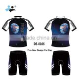 [DREAM SPORT] brand cycling jersey and bib short set