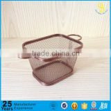 Stainless steel gold plated french frying basket, Chicken Fry Basket Chips Strainers For Deep Fat Fryer(Factory price)