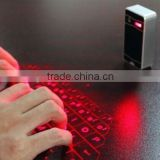 Bluetooth Red Infrared laser Projection Keyboard for phones & pads