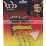 bob trading OEM factory Germany face paint factory face paint make up stick Germany flag face paint