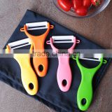 Kitchen Accessories Creative Mauual Fruit Vegetable Potato Slicer Kitchen Tools Plastic Handle Ceramic Peeler