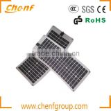 Sun power solar cells high efficiency flexible solar panel, High Quality Semi Flexible Solar Panel
