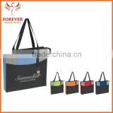 Hot Selling Exposition Conference Tote Bag With Pen Loop And Key Ring                                                                         Quality Choice