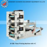 JH-500 automatic barcode label printing machine flexo label printing machine made in china manufacturer