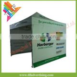 3x3m outdoor hexagon 50mm aluminum advertising pop up tent with dye sublimation printing