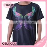 Fish and Bird Men t-shirt 3D printed O neck short tshirt summer top clothes sublimation printing t shirt for girl and boys
