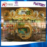 China manufacturer luxury amusement park carousel horses for sale