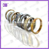 316L stainless steel plated gold or rose gold rings /used boxing ring for sale