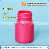 Transparent plastic bottles 15ml PE plastic bottle for liquid detergent packaging by manufacturing plant