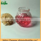 home use pumpkin shape glass jar for scented candle