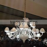 Hanging Basket Light Balls Antique