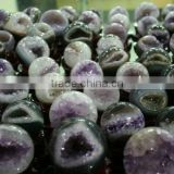 Open smile Natural Quartz Crystal Amethyst Ball Wholesale/Amethyst Geode Wholesale