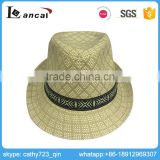 Lancai-Professional consult serviceable custom straw fedora hat