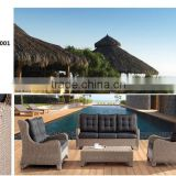 Home furniture luxury rattan sofa hotel furniture patio sofa furniture & chairs