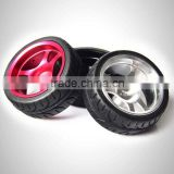 1/10 aluminum offset rc car wheels and tires