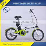2016 Most ECO Electric Bike YB BEIBEI 16 inch wheels with full steel frame
