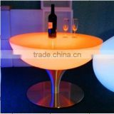 The LED light bar Colorful life KTV simple tea table bar counter fashion tall Outdoor Led round table