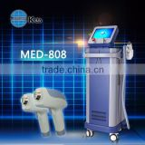 2016 diode laser impoted laser permanent hair removal machine MED-808 excellent on hair removal