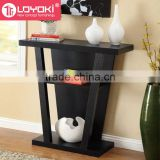 2016 new arrival console table home furniture display Modern Wooden Console Accent Table luxury console table
