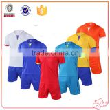 China OEM Service Cheap High Quality Men Sports Two Pieces Soccer Jersey Sets Custom Logo Print