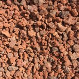 Slide-proof Red Lava Volcanic Rock Basalt For Garden Road