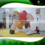 World Cup Inflatable Soccer Training Dummy Inflatable Soccer Target Mannequin Football Player Character Exercise Mold Balloons