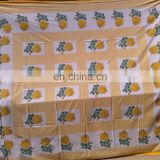 Cotton Hand Block Printed Bedspread New all Indian Bedsheet in india/duvet cover /bedding set